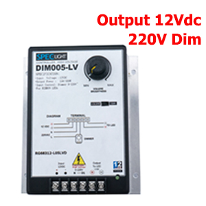 0-220V DIM DRIVER สำหรับไฟLEDเส้น 12V